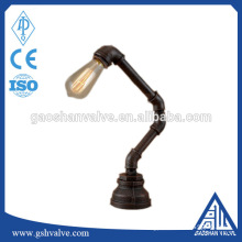 DIY iron pipe material vintage lamp