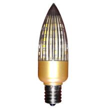 Bulbo da vela do C30 do diodo emissor de luz E14 / E17 da luz do dia para 4W / 6W / 8W / 10W