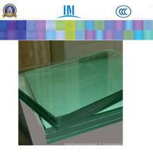 Fenêtre / verre stratifié clair décoratif pour la barrière de piscine