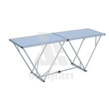Mesa plegable de aluminio de 2m