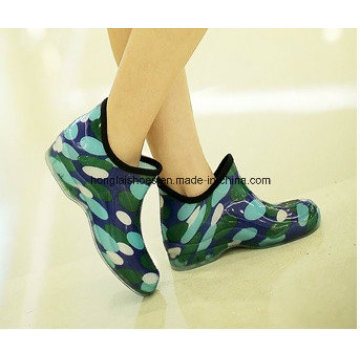 Fashion DOT Jelly Rubber Boots