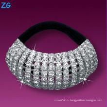 Шикарный кристаллический диапазон волос девушок, диапазон волос rhinestone девушок, диапазон волос волос вспомогательного оборудования волос bridal