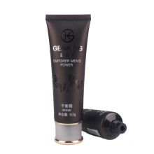 cosmetic empty packaging 100ml squeeze plastic soft tube for hand cream hair care  empty packaging