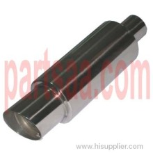 Stainless Steel Muffler With Slant Tip