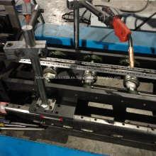 Dieciséis rollo eléctrico del gabinete del perfil del doblez que forma la máquina