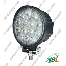 "Nuevo llegó 42W 4.5 ""LED luz del trabajo / 2800lm LED luz del trabajo / luz del trabajo del LED para la máquina del bosque"