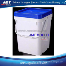 Plastic injection 20L square bucket mould company