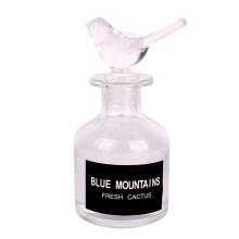 4oz decoration customized elegant round glass diffuser aroma bottle 120ml