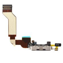 Piezas de repuesto de teléfono móvil para iPhone 4S Cargador Port Flex
