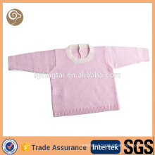 Mongolian knitted pullover cashmere baby sweater