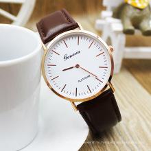 Женева Бренд все случаи Кварцевые часы для мужчин и женщин