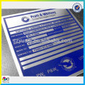 Trade assurance waterproof polyester panel labels
