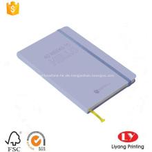 Notizbuch mit Notizblock und elastischem Band