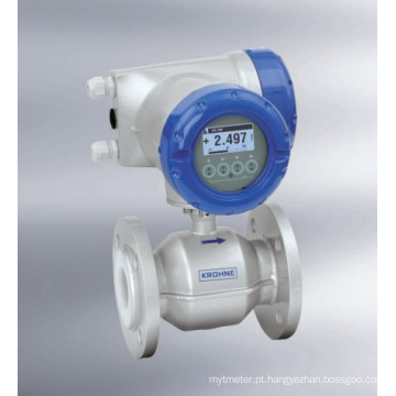 Medidor de vazão eletromagnético Krohne (Optiflux2000 / 4000, IFC300)