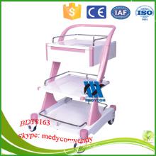 BDT8163 ABS Medical Treatment Trolley Medical Trolley Cart/hospital crash cart