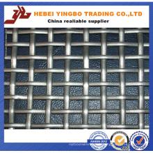 Treillis métallique ondulé de Weave de trou plat de trou de 1 * 30m