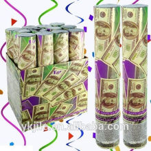 Dollar Money Confetti Party Popper / Gun Salute