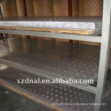 Hoja de aluminio estampada / placa / tira