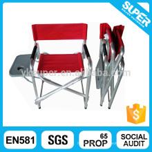 Cadeira de diretoria leve de alta qualidade barata com mesa lateral dobrável