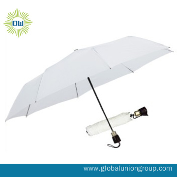 190T Polyester Transparent Folding Umbrella
