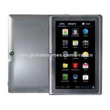 2014 Hot-selling Q88 Cheap Tablet PCs, Allwinner A23 CPU, Dual-core, 2,200mAh Lithium-ion Battery