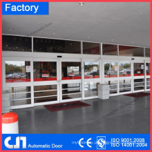 Alumínio Frame Airport Porta deslizante automática