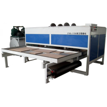 Wood composited WPC window and floor extruder machine