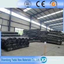 Géogrille en plastique pour mine de charbon destinée à la construction de routes