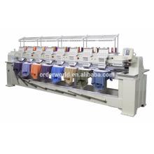 Multi cabeça computadorizada preços de máquinas de bordar com opção de software de digitalização
