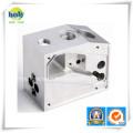 CNC que muele las piezas de aluminio prototipo del metal con servicio de perforación