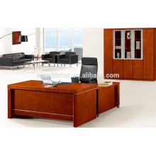 Mesa de oficina de oficina de madera de chapa de madera de China