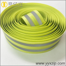 Home textile waterproof reflective nylon zipper