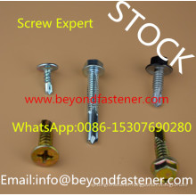 Flat Head Self Drilling Screw 6.3*32