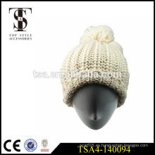 Sombrero del invierno de la manera para las muchachas jóvenes tapa los accesorios del estilo señoras invierno beanies
