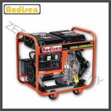 2.8 кВт-5кВт дизельный двигатель однофазный дизельный генератор