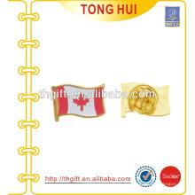 Metallabzeichen für Nationalflagge mit Farben