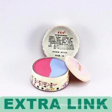 Embalaje cosmético vacío plegable de papel de los envases de papel modificados para requisitos particulares del papel de arte