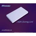 Cartes de nettoyage dans des cartes en plastique, cartes PVC
