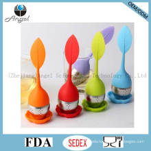 Promotional Silicone Tea Tool with Rustless Steel Infuser St12