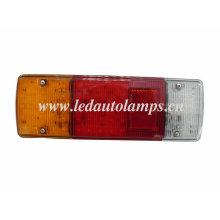 Светодиодный фонарь с красным рефлектором