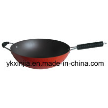 Kitchenware Aluminum Non-Stick Wok Cookware