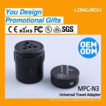 Die besten Weihnachtsgeschenk 4 Universal-Steckdosen Schalter Steckdose, Corporate Geschenk australischen Steckdose Shenzhen China