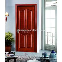 élégante porte d'entrée en bois cintré