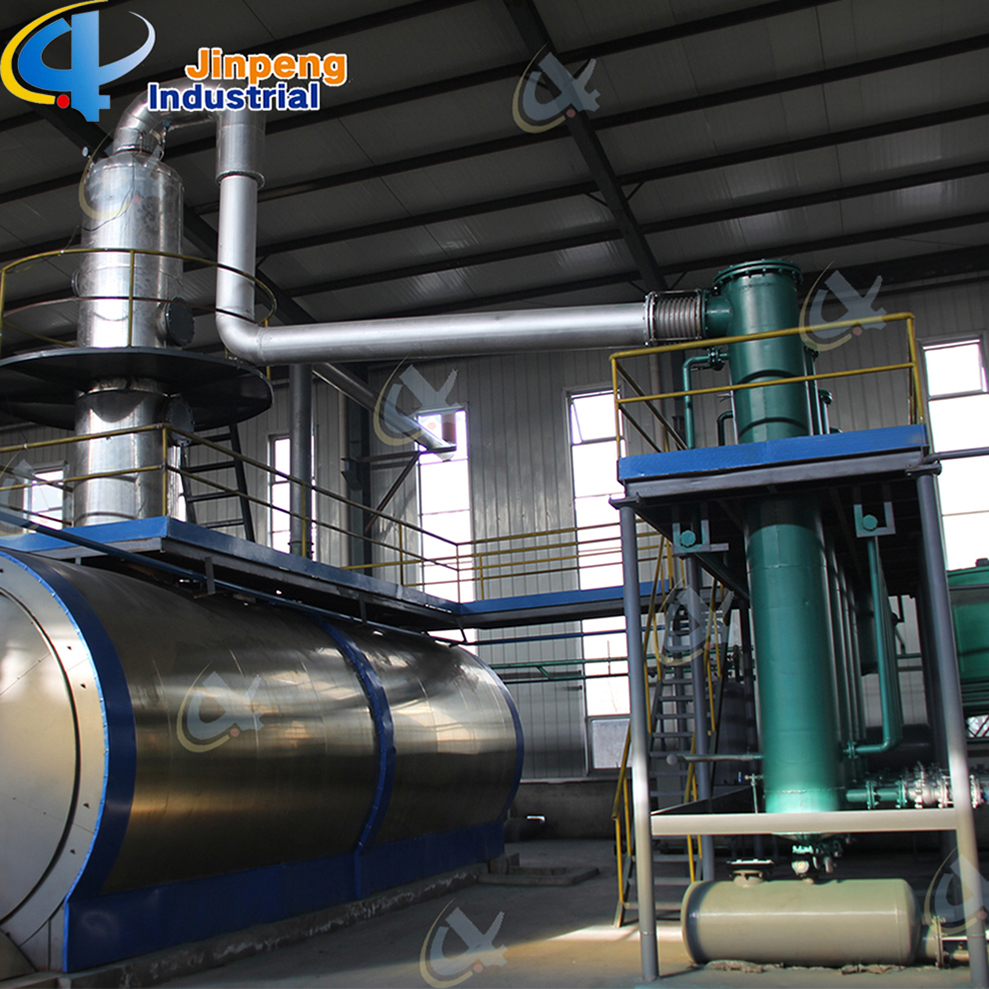 Tyre Oil Distillation to Diesel Machine
