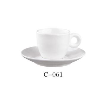 Mini White Ceramic Cup Set