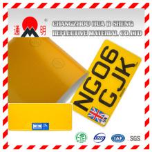 Feuilles réfléchissantes pour plaque d'immatriculation de véhicule à moteur (TM8200)