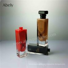 Designer-Glasparfümflasche mit Innenlackierung