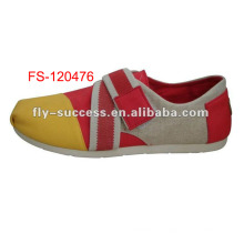 barato alta zapatos de mujer superior, zapatos de lona