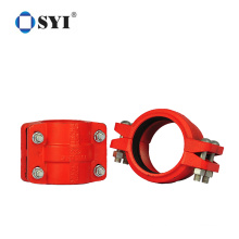 Heavy duty saddle clamp for pvc pipe fitting saddle clamp