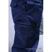 Traje de algodón 100% de alta calidad barato de la seguridad de la manga (BLY2003)